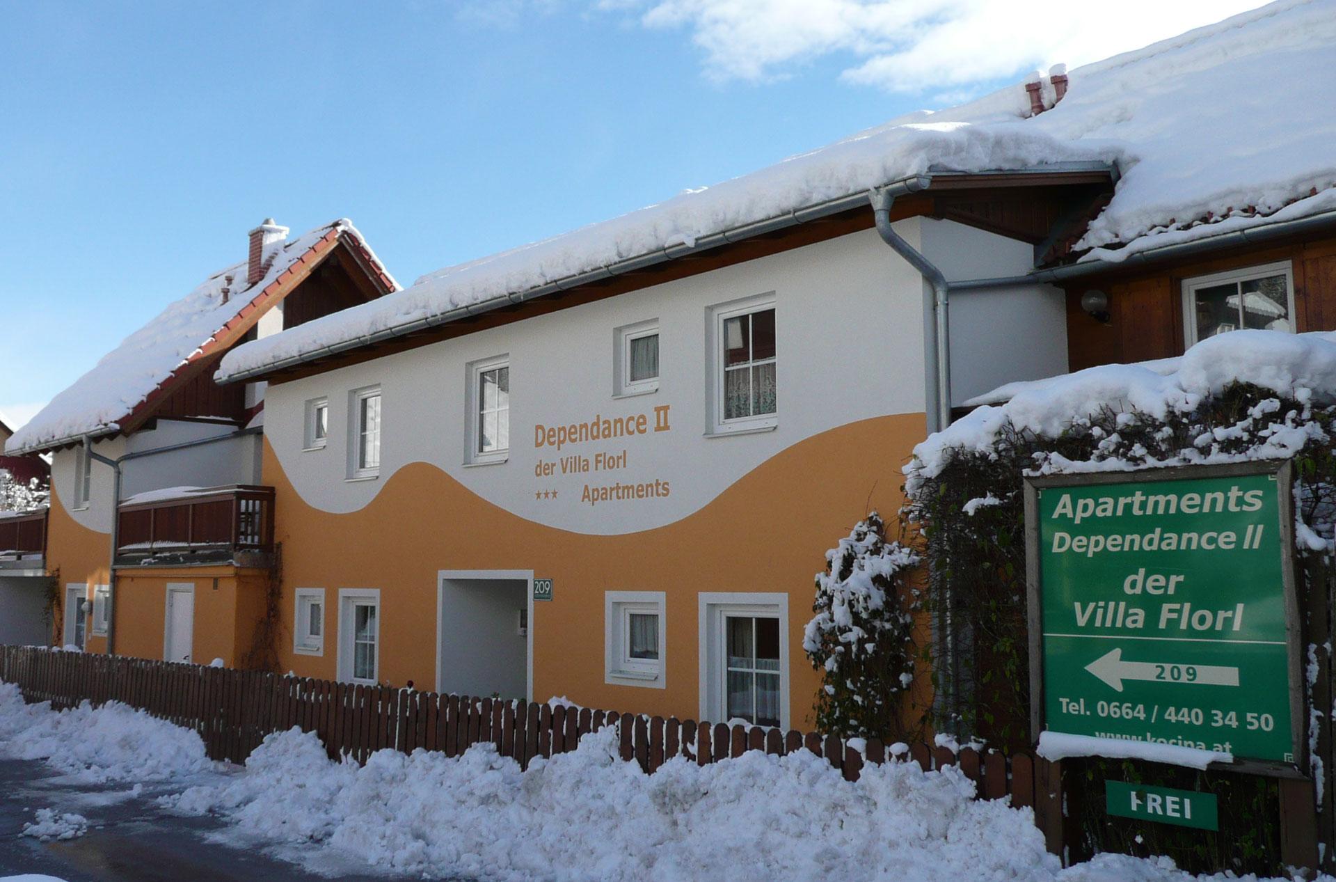 Dependance II der Villa Florl in Schadming